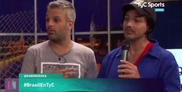 El humorista Pablo Fernández va a programa argentino y les recuerda el 6-1