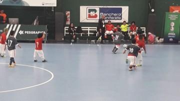 Boliva pierde en inicio del torneo de futsal talla baja