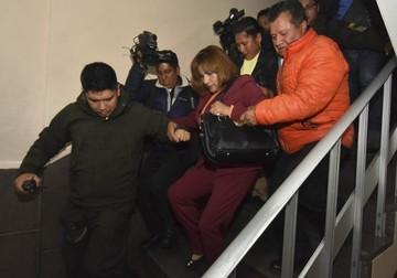 Ex jueza Pacajes aplaza audiencia cautelar en La Paz