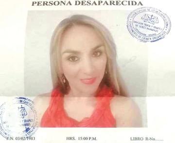 Buscan a mujer en Cochabamba