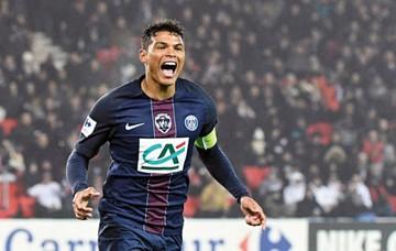 Thiago Silva, el ausente del PSG en el clásico francés