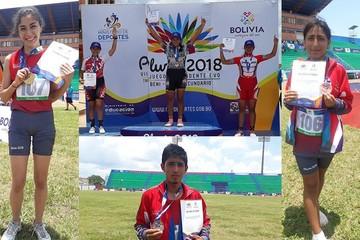 Chuquisaca acumula cinco medallas en Juegos Plurinacionales