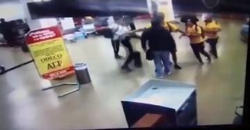 Divulgan el video de la agresión de Farías en Viru Viru