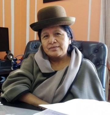 María Eugenia Choque es la nueva presidenta del TSE