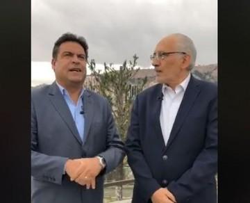 Carlos Mesa y Luis Revilla sellan alianza para las elecciones de 2019