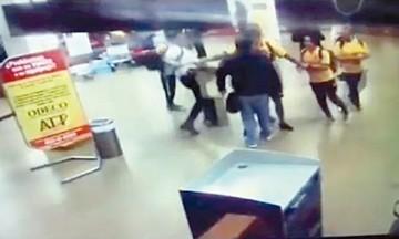 Aparece video de la agresión