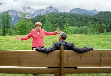 Merkel anuncia su retirada en medio de crisis política