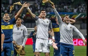 Lampe ingresará en la historia de  Boca y la Copa