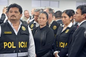 Keiko Fujimori enviada a prisión por 36 meses