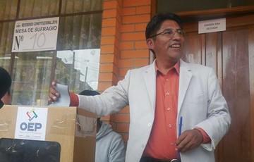 TSE otorga personalidad jurídica al partido de Patzi