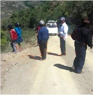 Un accidente siega tres vidas en Villa Charcas