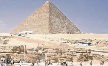 Descubren cómo movieron bloques para las pirámides