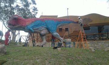 Dinosaurios presentan nuevos colores