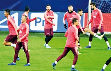 El Barça por el pase