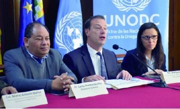 Unodc destaca esfuerzo de Bolivia contra drogas