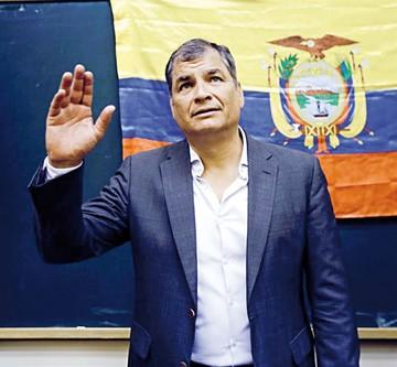 Correa no descarta asilo por proceso en su contra