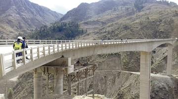 El puente Fisculco está prácticamente concluido
