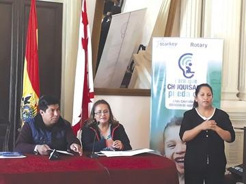 Rotary: Unas 500 personas se beneficiarán con audífonos