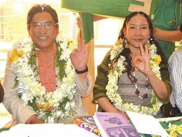 El Gobernador de La Paz peleará por la Presidencia