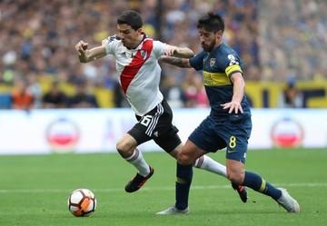Boca y River sellan un empate en la primera final