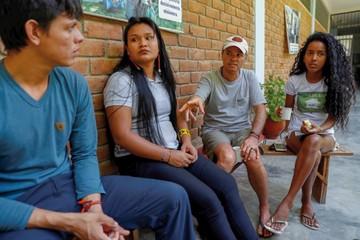 Sangre indígena asume la defensa  de la Amazonía