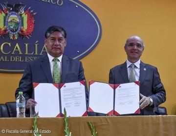 Fiscalía y el PNUD firman acuerdo para mejorar la calidad de la justicia