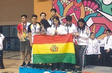 Bolivia, potencia en raquet