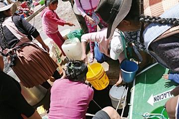 Socializan el proyecto de agua Sucre III