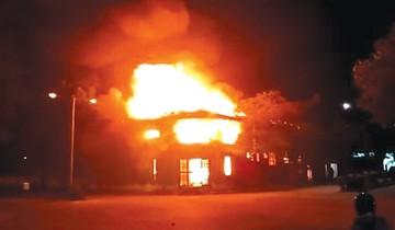 Gasificación y quemas en Roboré por bloqueo