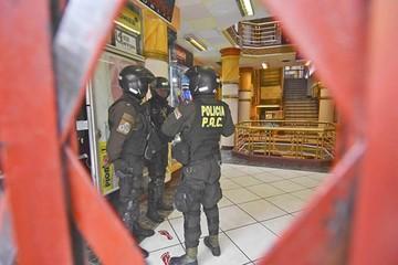 Atrapan a atracadores de una galería en La Paz
