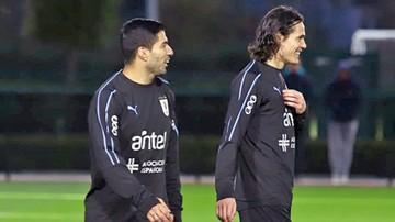 Uruguay ya se concentra de cara al duelo ante Brasil