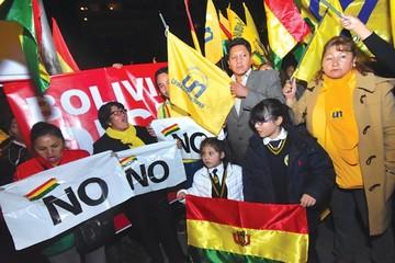 Dos alianzas opositoras  buscarán derrotar al MAS