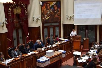 Lava Jato: Asamblea aprueba informe que involucra a Mesa y remite el caso a la Fiscalía