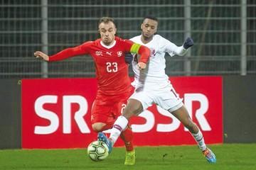 Qatar sorprende a Suiza  y la derrota en su reducto
