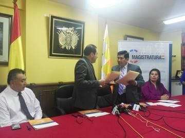 Consejo y SEGIP firman convenio de trabajo