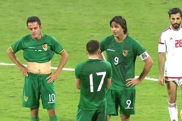 Bolivia empata sin goles con Emiratos Árabes en un flojo partido