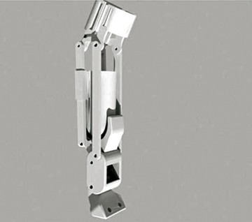 Fabrican prótesis 3D para una  perrita mutilada