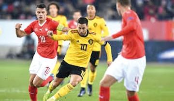 Suiza avanza en la Liga de Naciones a costa de Bélgica
