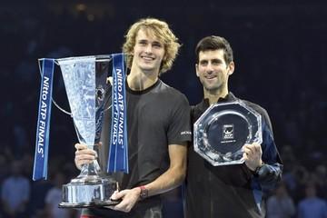 Zverev logra título Masters