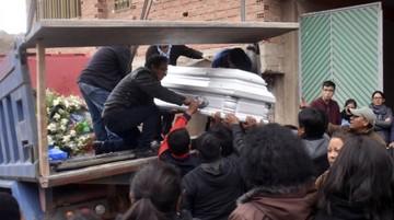Dos estudiantes mueren en avalancha humana