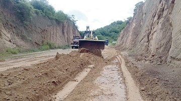 Retoman obras en túnel  y tramo Muyupampa-Ipati