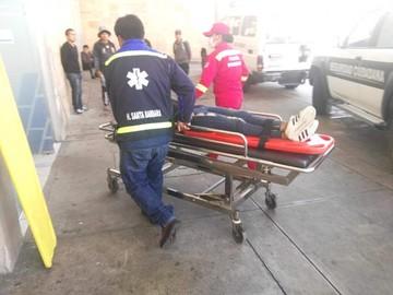 Accidente de tránsito cerca de Garcilazo deja tres personas heridas