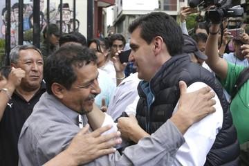 Levantan detención domiciliaria a Leyes por el caso Mochilas I