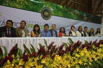 Tribunal Agroambiental desarrolla seminario internacional en Warnes