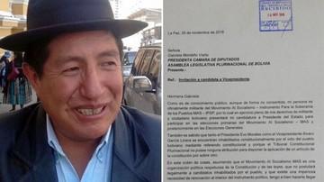 Quispe le pide a Montaño ser su candidata a vicepresidencia