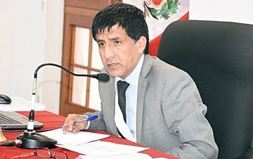 Impiden salida de Perú a esposo de Keiko Fujimori