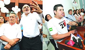 Oficialismo y oposición configuran  binomios con mayoría de hombres