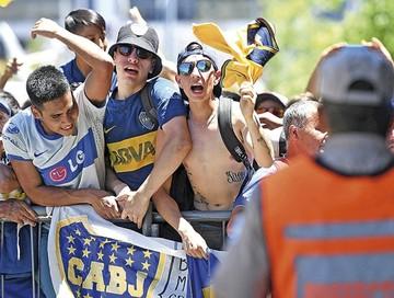Boca en Madrid