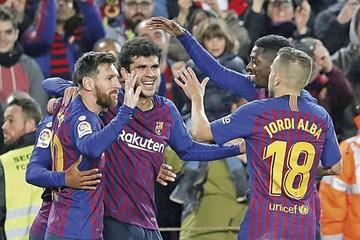 El Barça se recupera