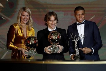 Luka Modric, Balón de Oro de 2018